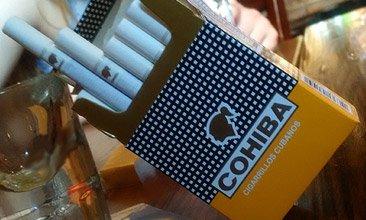 cuban cigarettes cohiba