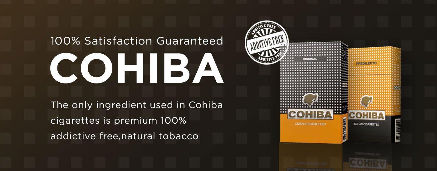 cohiba cigarettes